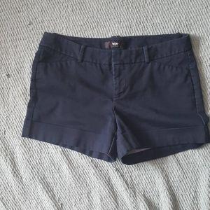 MOSSIMO stretch dark navy shorts